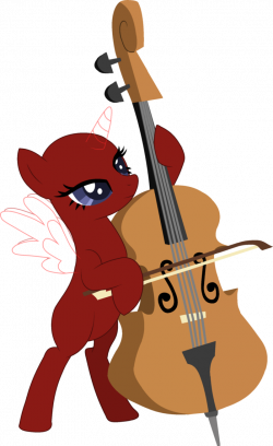 MLP-Cello base by CreateDisney on DeviantArt