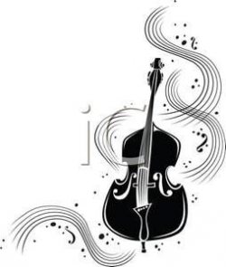 Music Notes Clip Art   ... Clip Art   Clipart image of black and ...