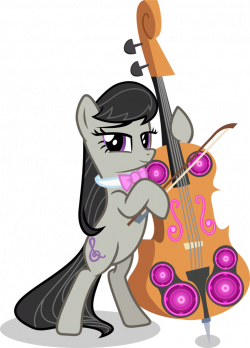 Octavia and the Cello cannon by Vector-Brony on DeviantArt