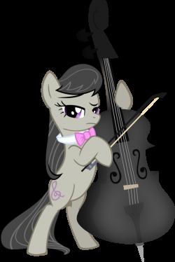 Octavia's Black Cello by axlewolf on DeviantArt