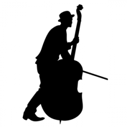 Picture of Stand Up Bass Player 14 (Wall Silhouettes) | Jens party ...