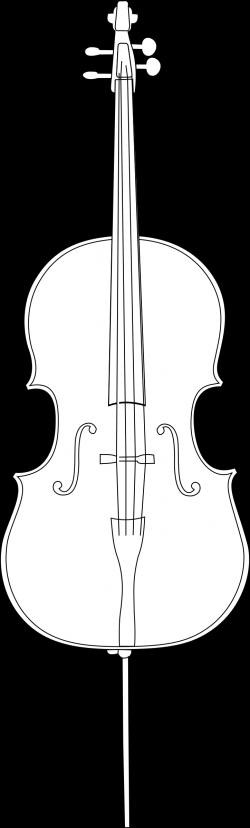 Clipart - cello 1