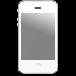 White IPhone Icon, PNG ClipArt Image | IconBug.com