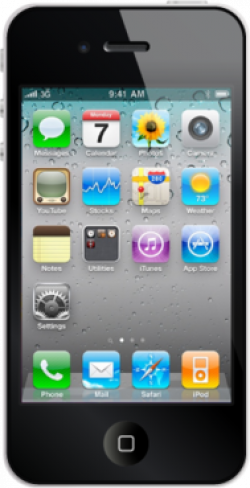28+ Collection of Iphone Cell Phone Clipart | High quality, free ...