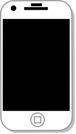 Iphone Cell Phone Clipart | Clipart Panda - Free Clipart Images