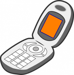 Cell Phone Of Cell Clipart
