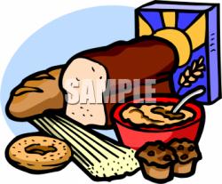 Grains Bread Cereal Clipart