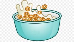 Breakfast cereal Corn flakes Milk Clip art - Bowl Cliparts png ...