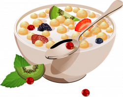 Creative cereals food advertising poster vector.png | Clip art, Food ...
