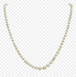 Strand Of Pearls Necklace - Chain Necklace Transparent ...