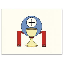 Chalice And Host with Stole: Priesthood Ordination Set