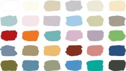 The Annie Sloan Chalk Paint® Color Chart | Chalk Paint® by Annie ...