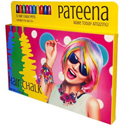Amazon.com: Hair Chalk Set of 12 Pens | Temporary Hair Color | Safe ...