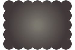 Chalkboard Cloud Label - Free / Clip Art | Luvly