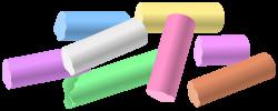 Chalk Pieces PNG Clip Art - Best WEB Clipart