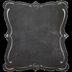 Blackboard Picture frame Chalk Clip art - Black border 564*564 ...