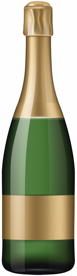 Champagne Bottle PNG Clip Art Image | Gallery Yopriceville - High ...