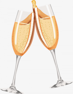 Cheers Champagne, Cheers, Champagne, Golden PNG Image and Clipart ...