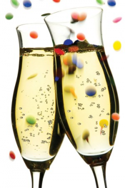 New Years Champagne Glass Clipart