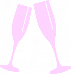 Champagne Glass Pink Clip Art at Clker.com - vector clip art online ...