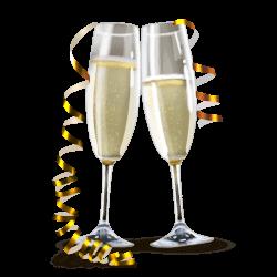 Champagne Glasses transparent PNG - StickPNG