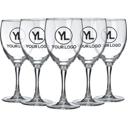 Personalized Wine Glasses | Quality Logo Products, Inc.