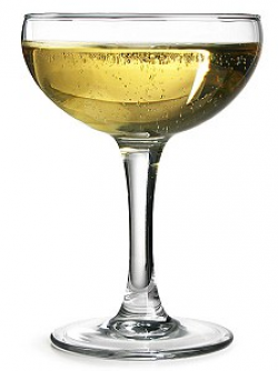 Champagne DOES taste better out of a long, tall flute, say ...