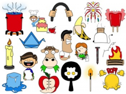 Chemical and Physical Change Clip Art Collection by Monster Wrangler ...