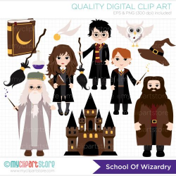 harry potter on broom clipart - Google Search | Harry Potter ...