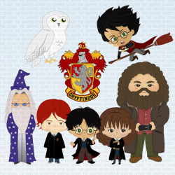 Harry Potter Characters Clipart