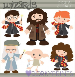 Wizards Character Clipart | Harry potter, Characters and Fans