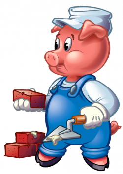 Three Little Pigs Clip Art Cliparts Co | Engineering in K-8 ...