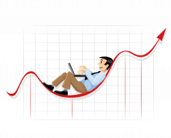 Businessperson Chart Clip art - Vector creative financial data ...