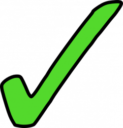 Bright Green Tick Clip Art at Clker.com - vector clip art online ...