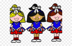 Cheerleader Clipart Transparent Background - Cheer Leaders ...