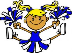 Cheerleading Cartoon Clipart