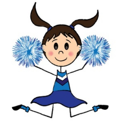 Free Cheerleaders Cliparts, Download Free Clip Art, Free ...