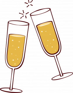 Wine glass Clip art - Party cheers! 2393*3078 transprent Png Free ...