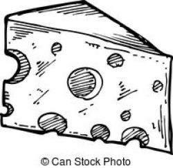 cheese clipart black and white 6 | Clipart Station