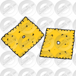 Cheese Crackers Picture for Classroom / Therapy Use - Great Cheese ...