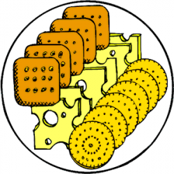 Cheese Crackers clipart, cliparts of Cheese Crackers free download ...