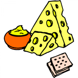 Cheese And Crackers Clipart