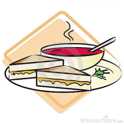 A plate with a grilled cheese | Clipart Panda - Free Clipart Images