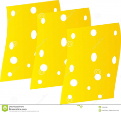 Cheddar Cheese Slice Clipart