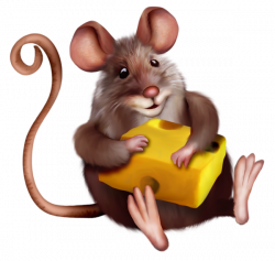 Mouse with Cheese Clipart Cartoon | Mice | Pinterest | Mice, Cartoon ...