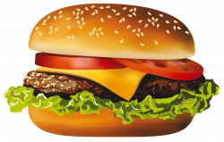 Hamburger PNG Vector Clipart | Gallery Yopriceville - High-Quality ...