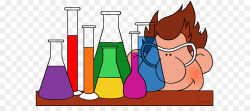 Chemistry Chemical substance Free content Clip art - Chemicals ...