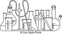 chemistry clipart black and white 3   Clipart Station
