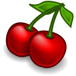 Free Cherry Clipart, 1 page of Public Domain Clip Art