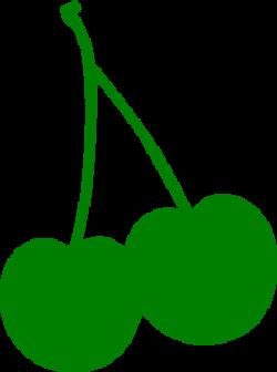 Green Cherry Clip Art at Clker.com - vector clip art online, royalty ...